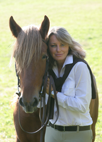 Lisa Holderby with Soleil